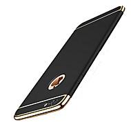 用途 iPhone 8 iPhone 8 Plus ケース カバー メッキ仕上げ バックカバー ケース 純色 ハード PC のために Apple iPhone 8 Plus iPhone 8 iPhone 7プラス iPhone 7 iPhone 6s Plus