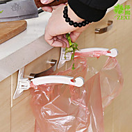 2PCS Kitchen Multi-function Door Hanging Garbage Bag Bracket