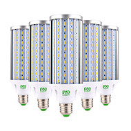 ywxlight® 60w e26 / e27 led-maïslampen 160 smd 5730 5850-5950 lm warm wit koud wit decoratief ac 85-265 v