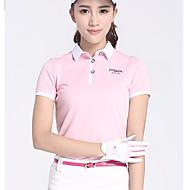Damen Kurzarm Golf Oberteile Golfspiel