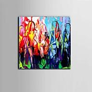 preiswerte Nude Art-Handgemalte Abstrakt Horizontal Panorama, Abstrakt Modern/Zeitgenössisch Segeltuch Hang-Ölgemälde Haus Dekoration Ein Panel