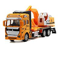 ieftine Toy Trucks & Vehicule de constructii-Jucării pentru mașini Vehicul Die-cast Jucarii Camion Vehicul de Construcție Excavator Jucarii Camion Excavator Jucarii Aliaj Metalic