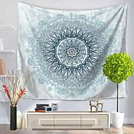billige Veggdekor-Blomster Tema Abstrakt Veggdekor 100% Polyester Kunstnerisk Mønster Veggkunst, Veggtepper Dekorasjon