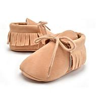 お買い得  ベビー用靴-女の子 靴 マイクロファイバー 夏 / 秋 赤ちゃん用靴 ローファー&スリップアドオン タッセル のために 子供用 ピンク / キャメル / カーキ色 / パーティー