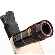 Univerzalni 8x podesivi fokus optički teleskop leće za mobitele s isječkom pogodnim za iPhone i Android telefonima