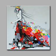 Hånd-malede MenneskerModerne Et Panel Hang-Painted Oliemaleri For Hjem Dekoration