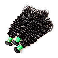 8a indian remy human hair curly style 3pieces 300g lot unprocessed indian virgin hair weaves natural black color no shedding