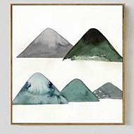 baratos Quadros com Moldura-Abstracto Arte Emoldurada 3D Arte de Parede Material com frame For Decoração para casa Arte Emoldurada Sala de Estar Quarto Quarto das
