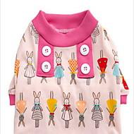 Cachorro Pijamas Roupas para Cães Casual Desenhos Animados Verde Rosa claro Azul Claro Ocasiões Especiais Para animais de estimação