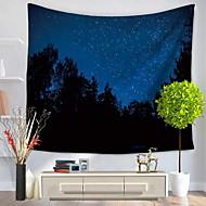 billige Veggdekor-Landskap Veggdekor 100% Polyester Mønstret Veggkunst, Veggtepper Dekorasjon