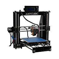 3D Printer Diy Kit Education Prusa I3 High Precision - Black
