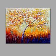 baratos -Pintados à mão PaisagemAbstracto Pastoril 1 Painel Tela Pintura a Óleo For Decoração para casa