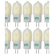 hesapli -YWXLIGHT® 10pcs 3W 300-400 lm G4 LED Bi-pin Işıklar T 18 led SMD 2835 Kısılabilir Sıcak Beyaz Serin Beyaz Doğal Beyaz