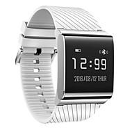 tanie Inteligentne zegarki-Inteligentne Bransoletka Pulsometr Wodoszczelny Spalone kalorie Krokomierze Długi czas czuwania Obsługa wiadomości Anti-lost Pomiar