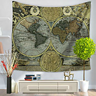Wall Decor 100% Polyester Modern Wall Art,Wall Tapestries of 1