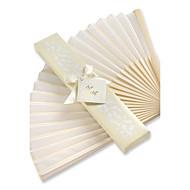 asiatisk silke fan bryllup ceremoni gæst bedre gaver ® brudepiger bryllup favoriserer