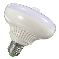 billige -12W 1000-1200lm E26 / E27 Smart LED-lampe T120 12 LED Perler SMD 5630 Infrarød sensor Lysstyring Menneskekroppssensor Varm hvid Kold hvid
