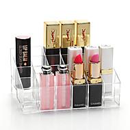 akryl quadrate sminke oppbevaring stå børste potet kosmetisk arrangør for leppestift neglelakk