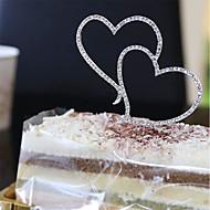 Tårttoppar Blommor/Botanik Trädgårdstema Blom-tema Fjäril Tema Sagotema Baby Shower Musik Romantik Bröllop Hjärtan Kristall Legering