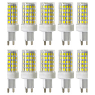 baratos Luzes LED de Dois Pinos-Ywxlight® dimmable 10w g9 led bi-pin lights 86 smd 2835 850-950lm branco quente branco frio branco natural 2800/4000 / 6000k 220v