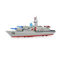 hesapli Oyuncak Tekneler-Oyuncaklar Modely Uçak Gemisi Oyuncaklar Simülasyon Warship Uçak Gemisi Gemi Metal Alaşımlı Parçalar Unisex Hediye