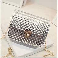 Women Bags All Seasons PU Shoulder Bag for Gold Black Silver