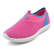 Damen Loafers & Slip-Ons Komfort Tüll Frühling Sommer Normal Walking Komfort Flacher Absatz Grau Rot 2,5 - 4,5 cm