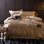 Massiv 4 Stück Handgefertigt 1 Stk. Bettdeckenbezug 2 Stk. Kissenbezüge 1 Stk. Betttuch