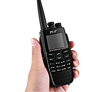 billige Walkie-talkies-Tyt dm - uvf10 digital radio 5w 256ch vox gps melding scrambler digital talkies toveis radio transceiver walkie talkie