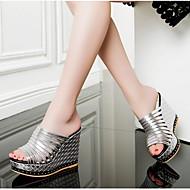 Ženske Cipele PU Proljeće Ljeto Udobne cipele Sandale Za Kauzalni Pink Duga