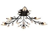 billige Taklamper-LightMyself™ 6-Light Takplafond Omgivelseslys - Krystall, 200-240V / 110-120V Pære Inkludert / G9 / 10-15㎡