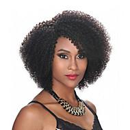 baratos -Premier ® perucas de cabelo humano curto kinky curly unprocessed virgem brasil brasileira nenhuma lace máquina feita cabelo humano perucas