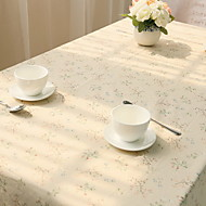 Floral Fresh Print Table Cloths,Cotton Blend Material Fresh Style