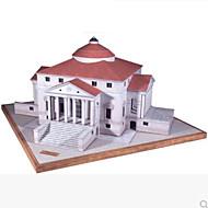Quebra-Cabeças 3D Maquetes de Papel Brinquedos de Montar Construções Famosas Faça Você Mesmo Cartão de Papel Duro Clássico Crianças Unisexo Para Meninos Brinquedos Dom