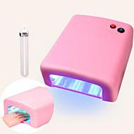 billige -pinpai jd818 lys terapi maskin 36w lampe nagel uv olje tørking manikyr verktøy
