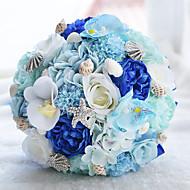 "Bouquets de Noiva Buquês Casamento Miçangas Renda 9.45""(Aprox.24cm)"