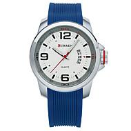 Homens Relógio Esportivo Relógio inteligente Relógio de Pulso Quartzo Silicone Cores Múltiplas 30 m Impermeável Calendário Criativo Analógico senhoras Amuleto Clássico Fashion Relógio Elegante -