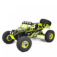 Carro com CR WL Toys 10428 2.4G 4WD Alta Velocidade Drift Car Off Road Car Monster Truck Bigfoot Rock Climbing Car Jipe (Fora de Estrada)