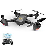 RC Drone VISUO XS809W 4ch 6 Eksen 2.4G 720P HD Kameralı RC 4 Pervaneli Helikopter Geniş Açı Kamera Dönüş Için Tek Anahtar Başsız Mod 360