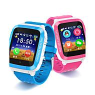 Crianças Relógio inteligente Digital Borracha Banda Azul Rosa
