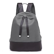 Women Bags Oxford Cloth Nylon Backpack for Outdoor Fall All Seasons Black Gray