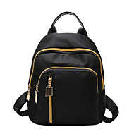 Women Bags All Seasons PU Backpack for Casual Blue Black