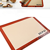 Silpat Silicone Baking Mat Baking Sheet liner Non-Stick Baking Cookie Liner Pastry Mat Petite Jelly Roll 30*21cm Bakeware Kitchen Tool