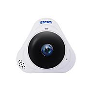 Escam® q8 960p 1.3mp 360 graders panoramaskjerm fisheye wifi ir infrarød ip kamera med lyd 128gb tf kort