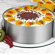 billige Bakeredskap-Bakeware verktøy Rustfritt Stål / Syntetisk / Stål Multifunksjonell / Non-Stick / baking Tool For kjøkkenutstyr / Til Kake Rund Cake Moulds 1pc