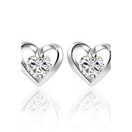 Žene Sitne naušnice Kristal Kubični Zirconia Personalized Kružni dizajn Klasik Boemski stil Srce Uglađeni Elegantno Euramerican Moda