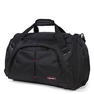 Unisex Bags All Seasons Oxford Cloth Travel Bag with for Casual Outdoor Black