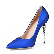 Női Magassarkúak Magasított talpú Formai cipő Bőrutánzat Tavasz Esküvő Ruha Party és Estélyi Magasított talpú Formai cipő Stiletto