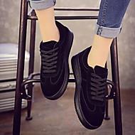 Dames Schoenen PU Lente Comfortabel Sneakers Voor Causaal Wit Zwart Roze