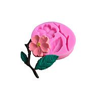 billige Bakeredskap-Cake Moulds Rund Blomst 3D for Væske Til Småkaker Til Kake For kjøkkenutstyr Silikon Non-Stick baking Tool
